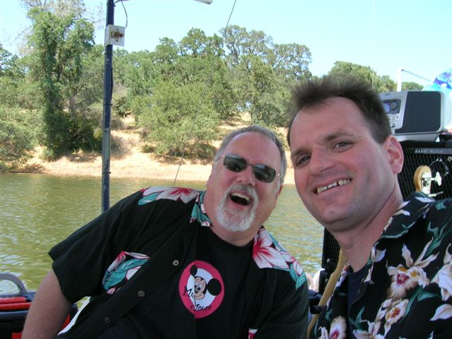 Cliff & Jim, Folsom Yacht Club, 2006